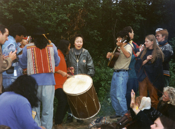 Sainkho & Out of Tuva 1996