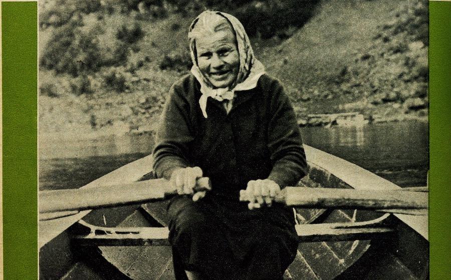 Anne Marie Eriksen i KK 1963.