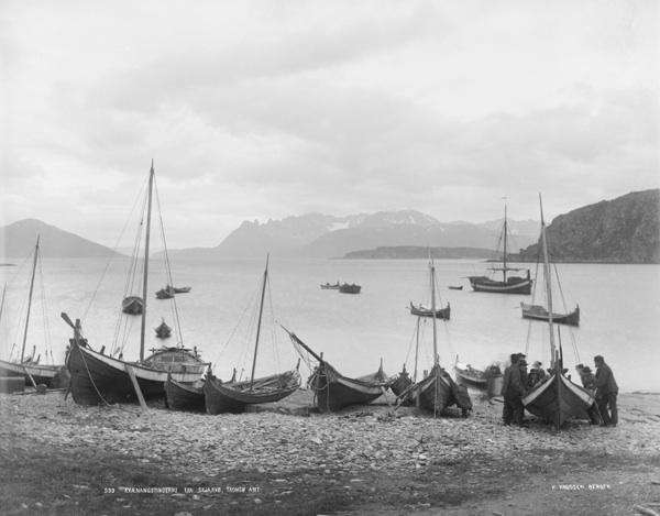 Kvæangstinderne fra Skjævø, Tromsø amt.