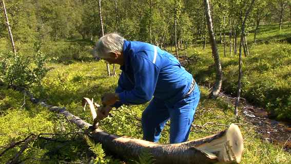 Geir Tore Holm, Retten til landet og til vannet, videostill, 2012