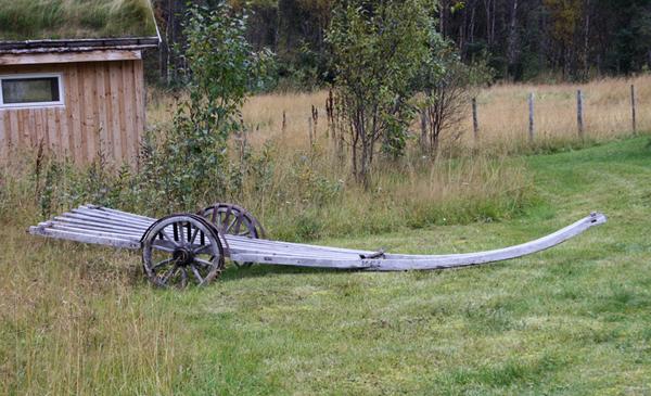 Fra Holmenes sjøsamiske gård. Foto: Torun Olsen
