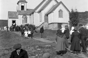 Skjervøy kirke 1930-tallet.