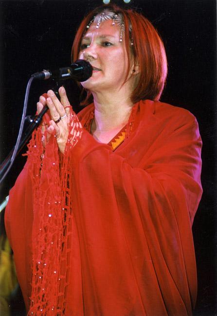 Mari Boine på Riddu 2004