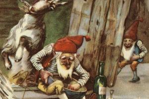 Postkort fra ca. 1890. Kunstner: Karl Uchermann