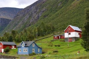 Hus og fjøs i Skardalen