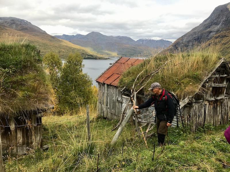 Sommerfjøs i kulturlandskap SkardalenSkardalen